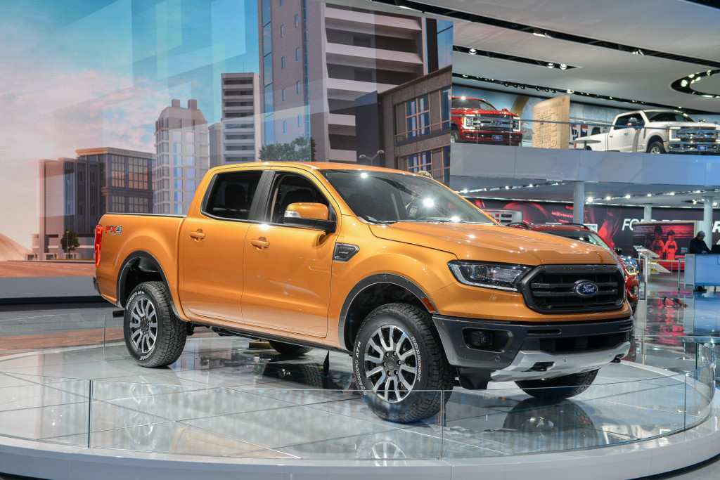 67 A 2019 Ford Pickup Engine