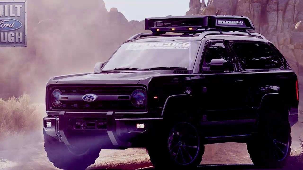 67 All New Ford Bronco 2020 Release Date Concept