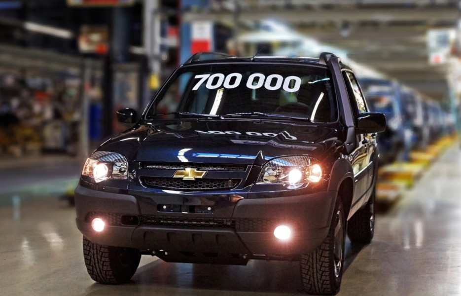 67 New Chevrolet Niva 2020 Interior