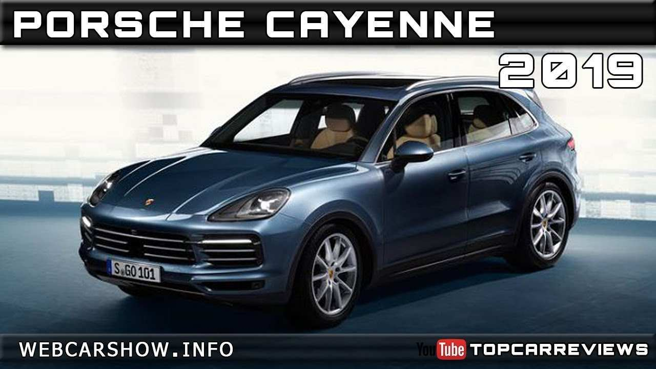 67 The Best 2019 Porsche Cayenne Specs Exterior and Interior