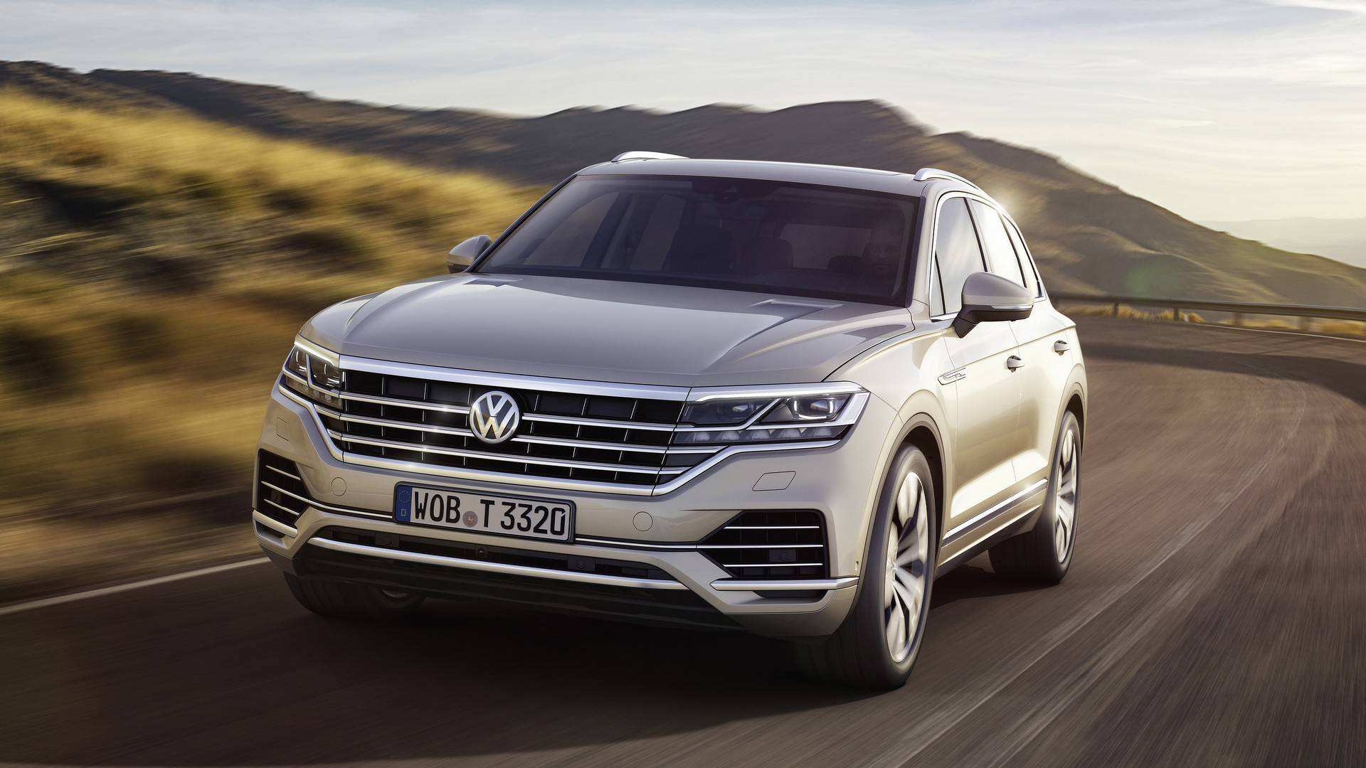 67 The Touareg Vw 2019 Spy Shoot