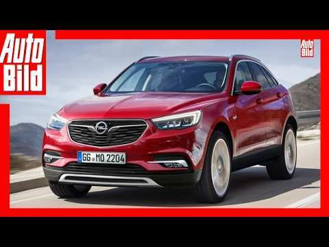 68 A 2019 Opel Suv Exterior And Interior