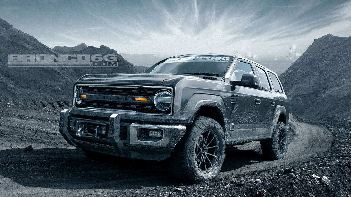 68 A 2020 Ford Bronco Pricing