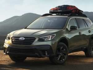68 New Subaru Usa 2020 Spy Shoot