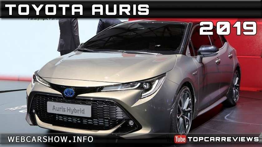 68 New Toyota Auris 2019 Release Date Redesign And Concept
