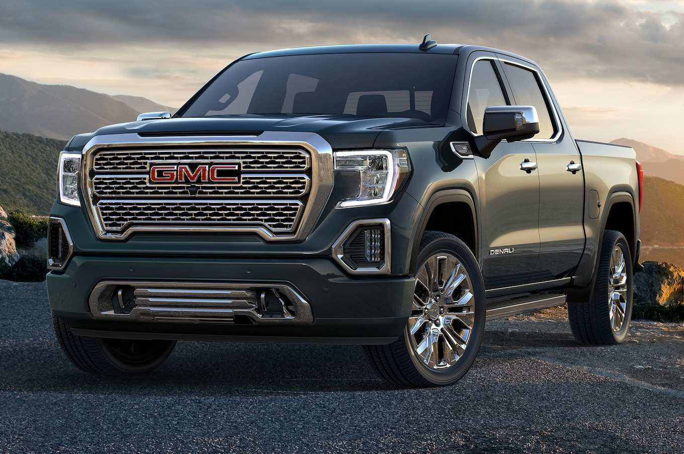 69 A 2019 Gmc Sierra Interio Model