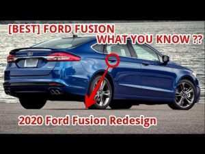 69 The Best 2020 Ford Fusion Redesign Performance and New Engine