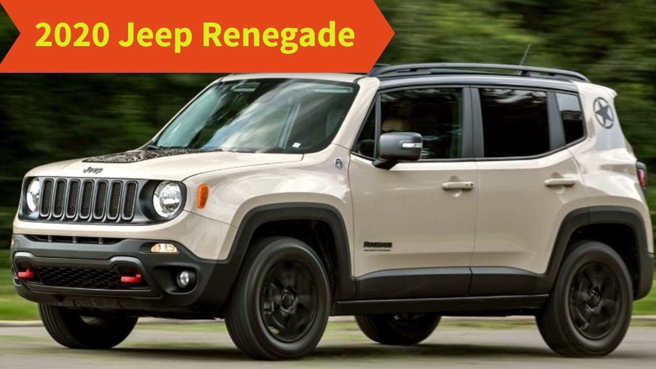 69 The Best Jeep Renegade 2020 Redesign