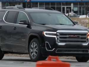 69 The Best New Gmc Acadia 2020 Spy Shoot