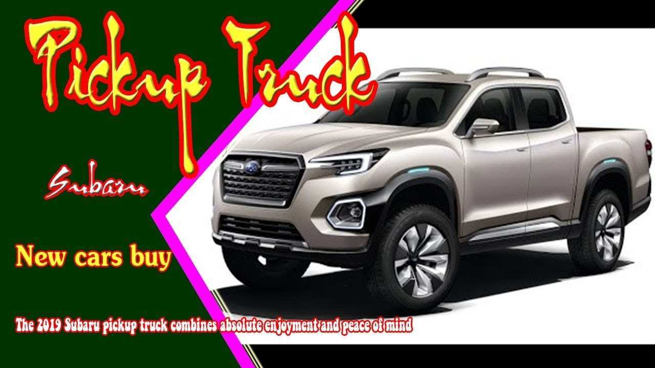 69 The Subaru 2019 Truck Price And Review