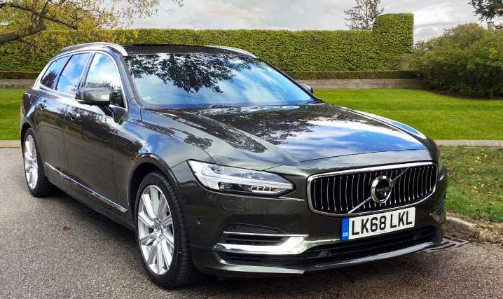 69 The Volvo V90 Facelift 2020 Images