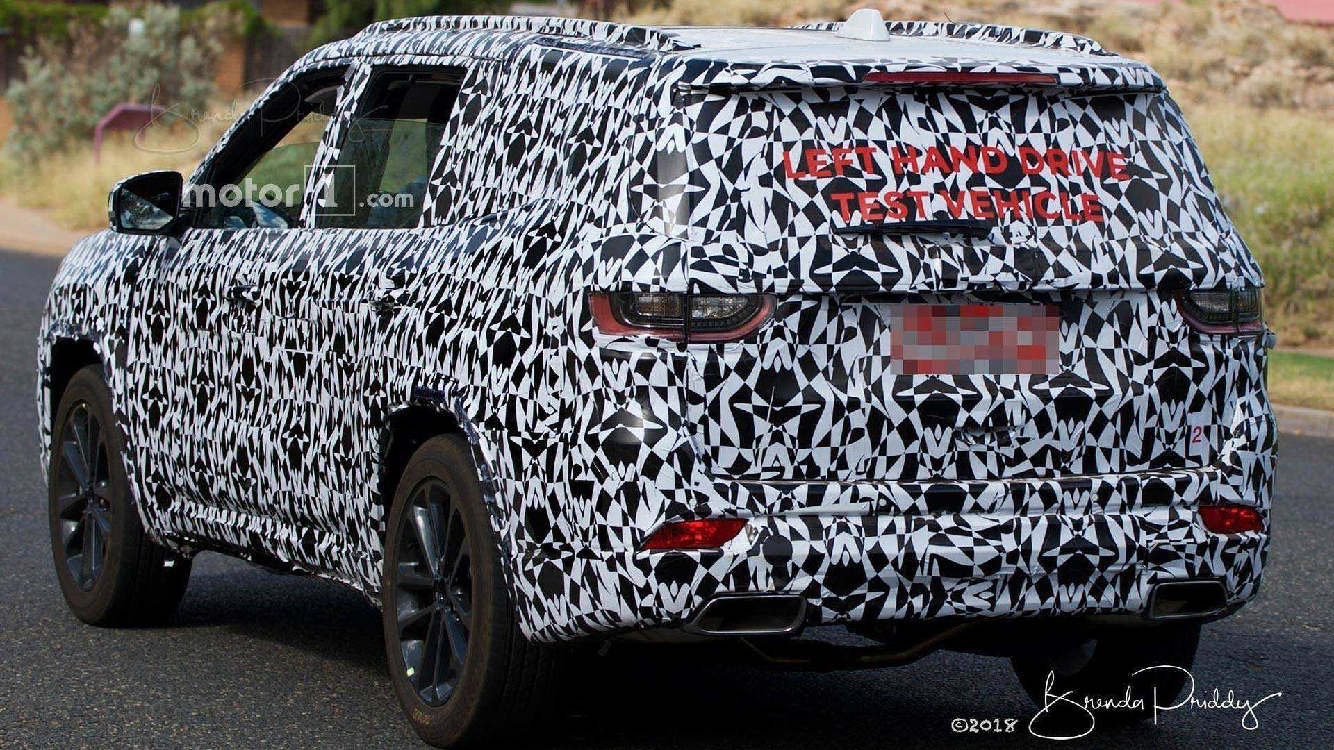 70 New 2020 Jeep Grand Cherokee Spy Photos Redesign and Review