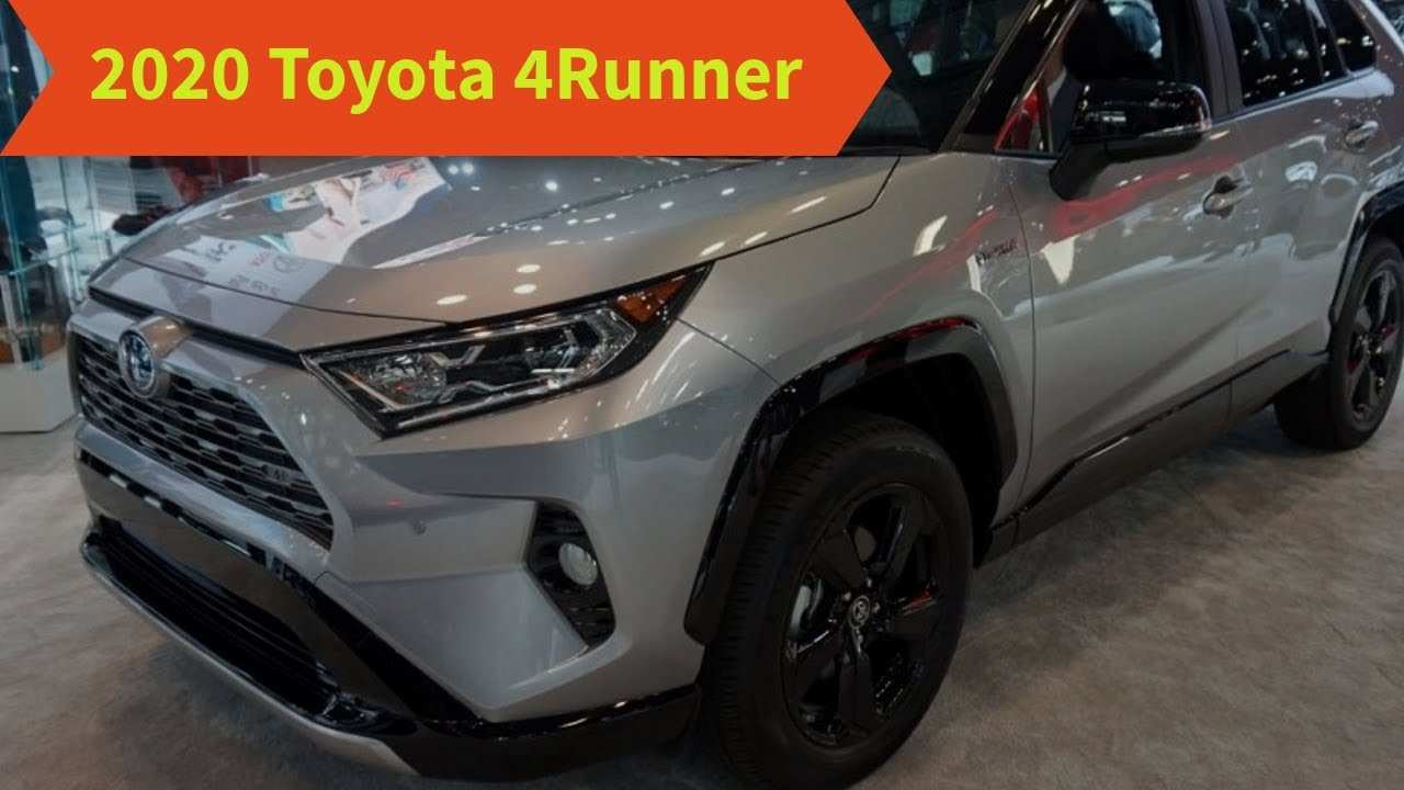 70 New 2020 Toyota 4Runner Release Date Review