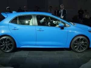 70 The 2019 Toyota Corolla Hatchback Exterior