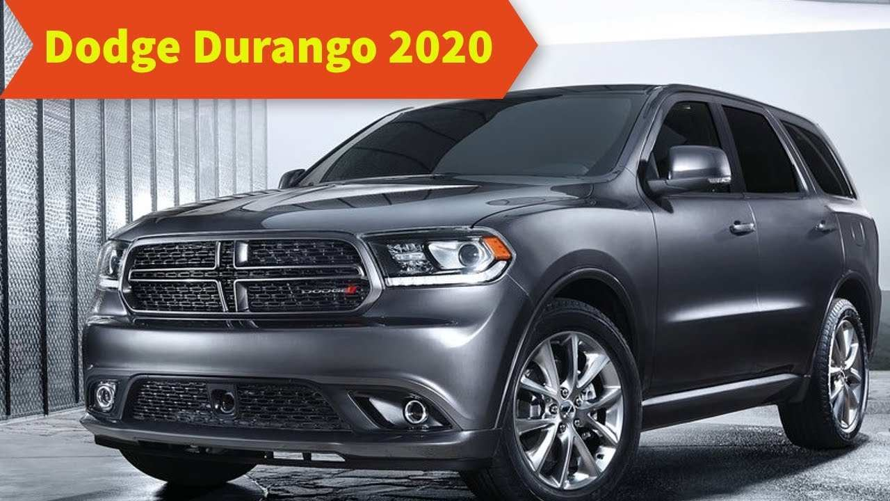 70 The Best 2020 Dodge Durango New Review