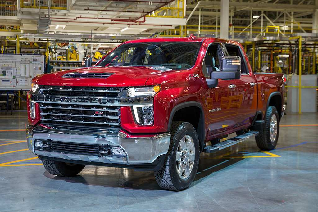 70 The Best Chevrolet Pickup 2020 Release Date And Concept