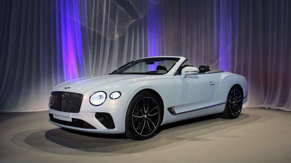 71 A 2019 Bentley Continental Gtc Pictures