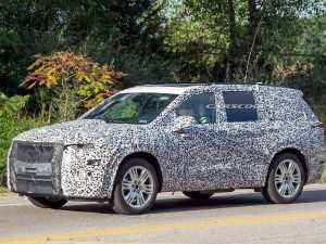 2020 Cadillac Escalade Spy Photos