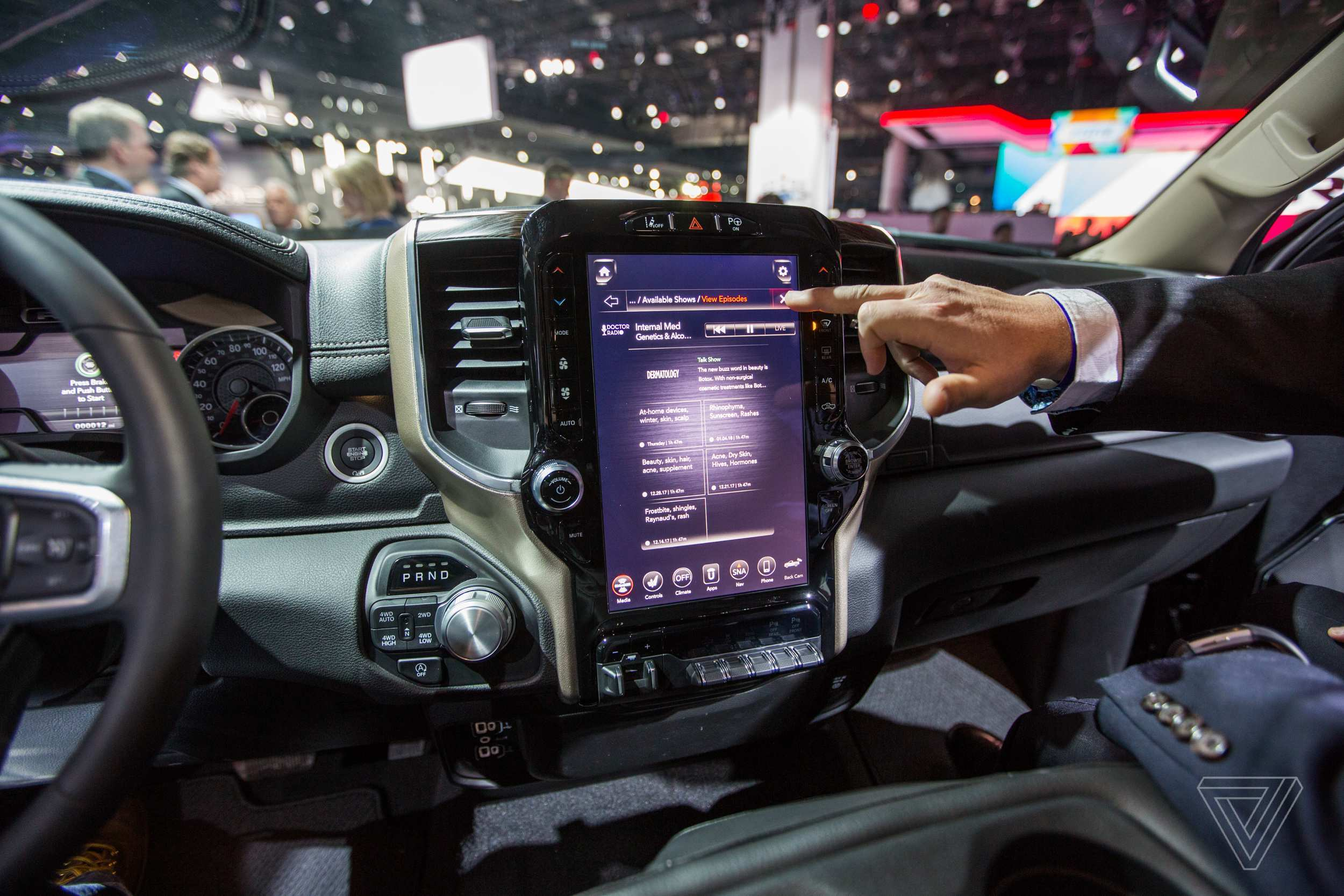 71 The 2019 Dodge Touch Screen Performance
