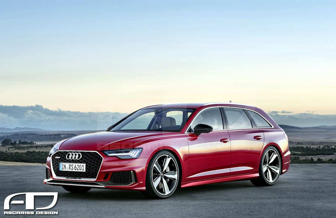 71 The Audi Rs6 2020 Exterior