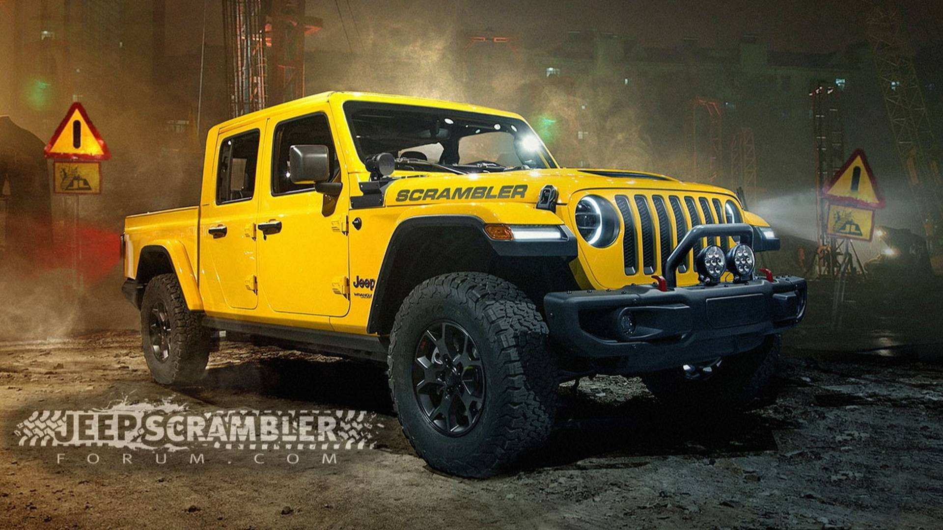 71 The Jeep Pickup 2020 Release Date And Concept