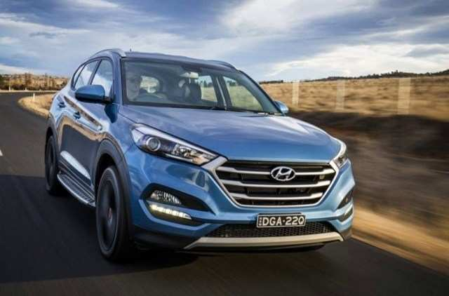 72 A 2020 Hyundai Tucson Speed Test