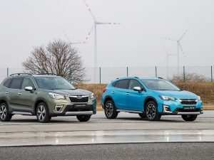 72 New Subaru Hybrid 2020 Spy Shoot