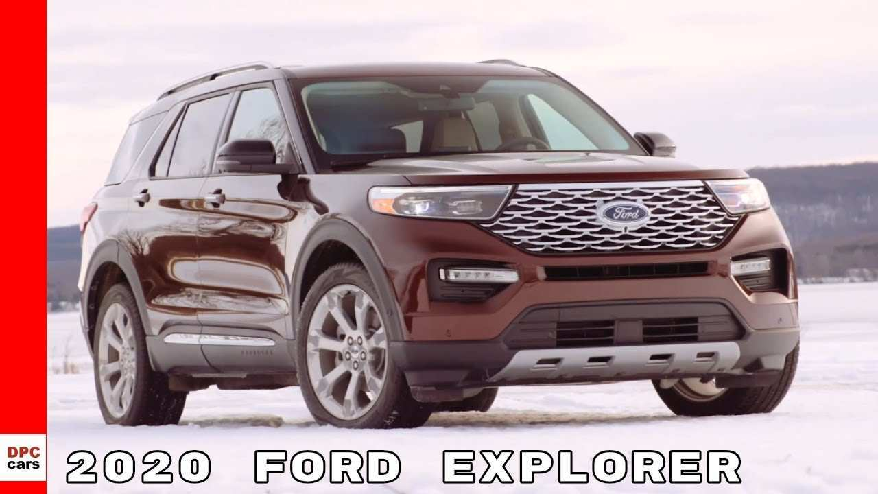 72 The 2020 Ford Explorer Youtube Prices