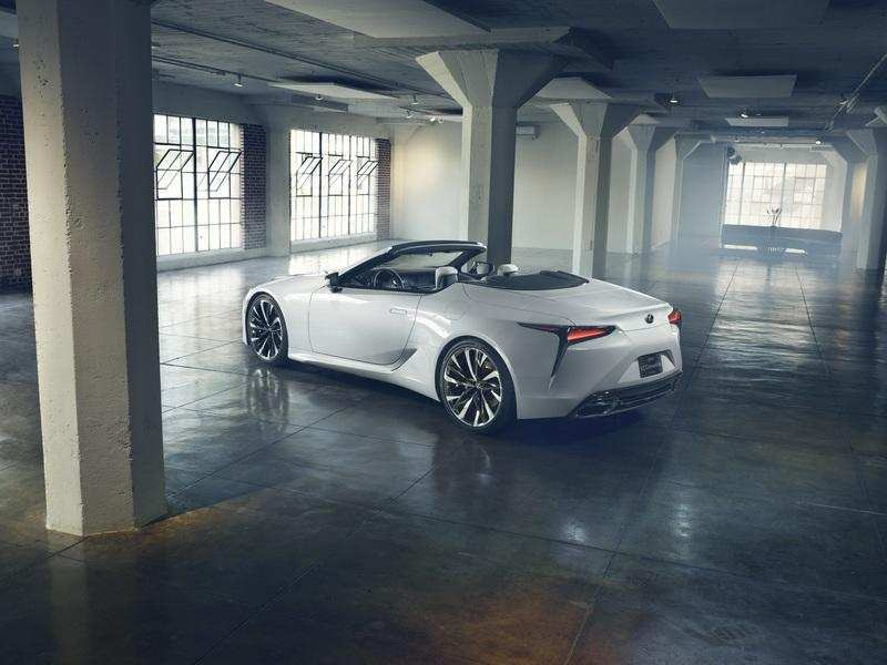 72 The Best 2019 Lexus Convertible Review And Release Date