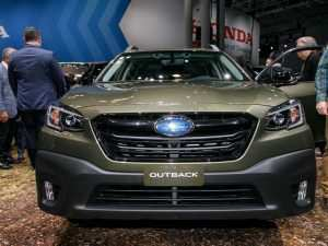 72 The Subaru Outback 2020 New York Exterior and Interior