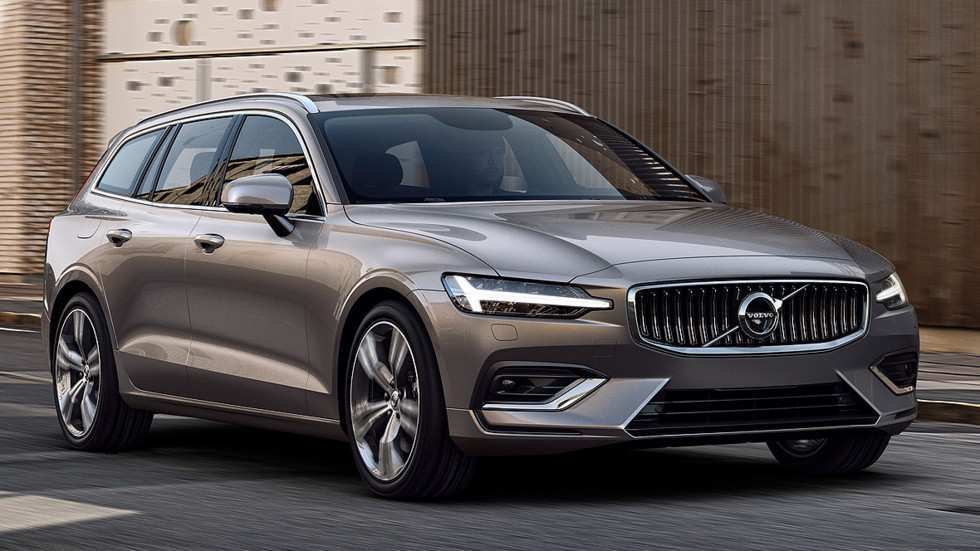 72 The Volvo V60 2019 First Drive