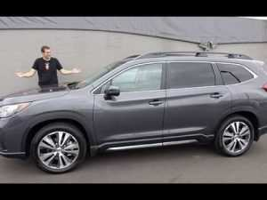 73 A 2019 Subaru Ascent News Performance and New Engine