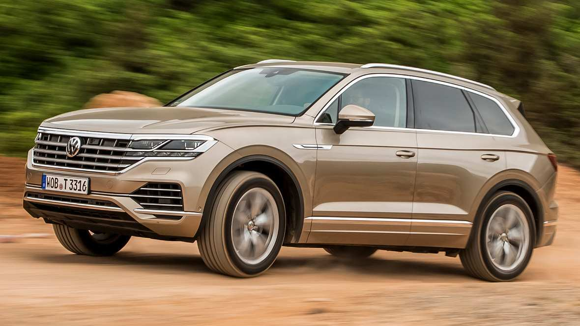 73 New Touareg Vw 2019 First Drive