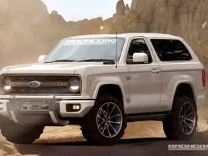 73 The 2020 Ford Bronco July 2018 Model