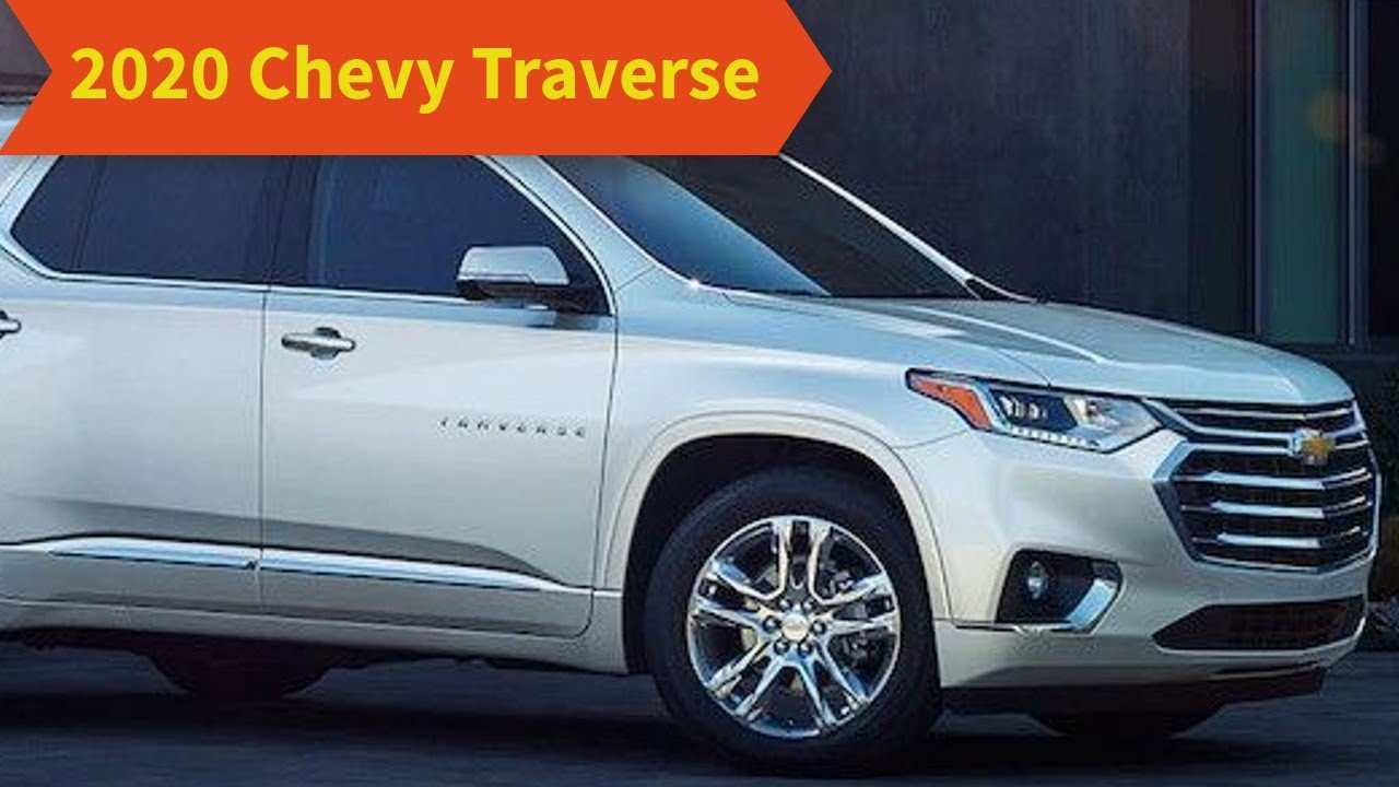 73 The Best Chevrolet Traverse 2020 Images
