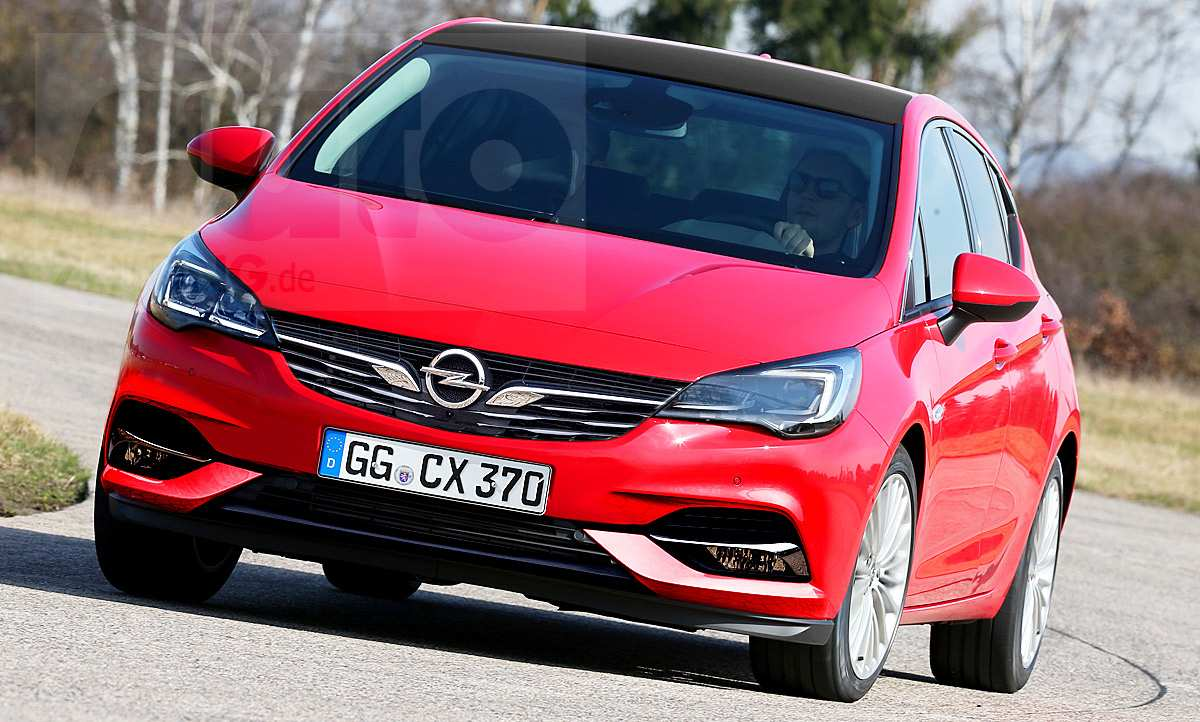 73 The Best Opel Astra New Shape 2020 Overview
