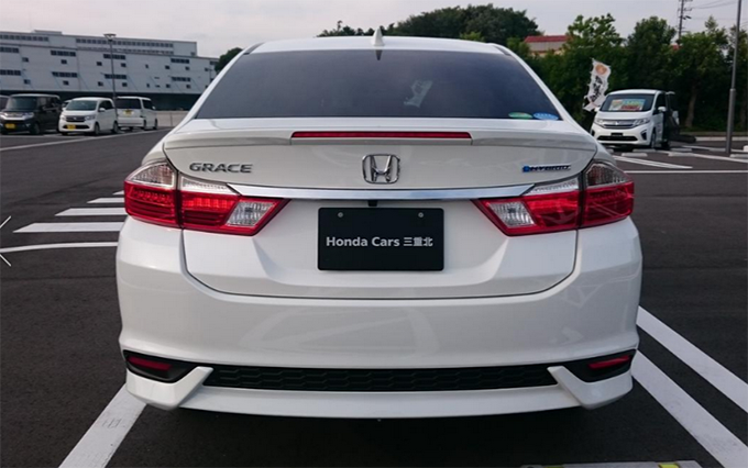 73 The Honda Grace 2020 Spy Shoot