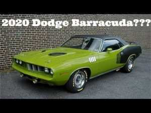 74 A 2020 Chrysler Barracuda Concept and Review