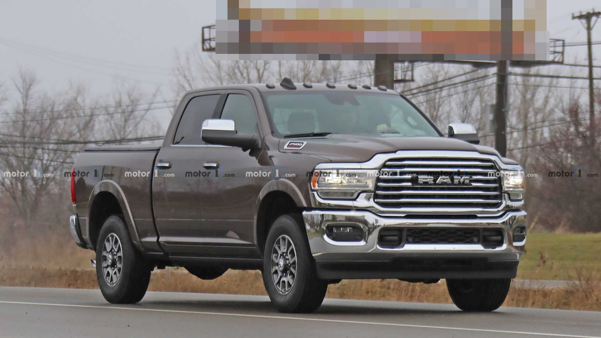 74 A Images Of 2020 Dodge Ram Spy Shoot