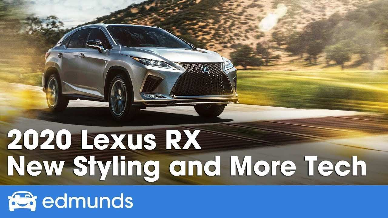 74 All New 2020 Lexus Rx 350 Vs 2019 Review and Release date