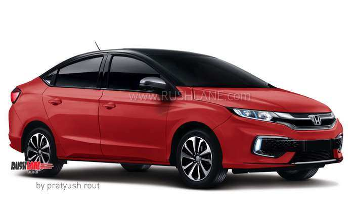 74 All New Honda City 2020 India New Concept