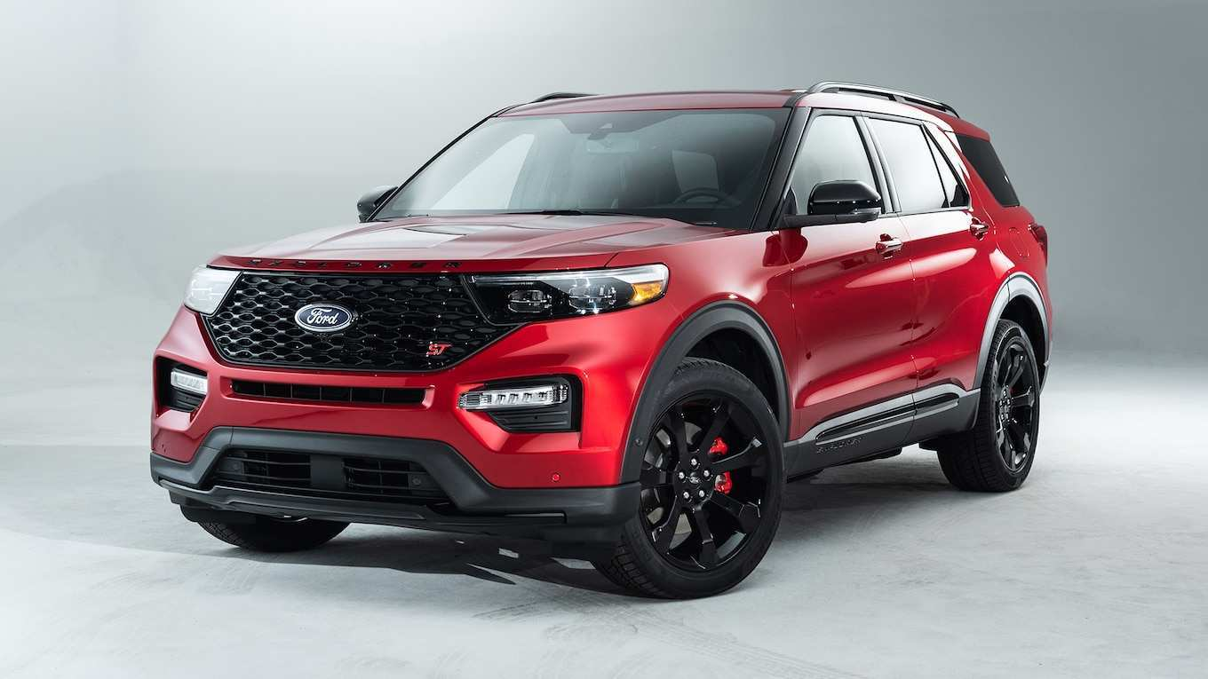 74 Best Ford Explorer 2020 Release Date Interior
