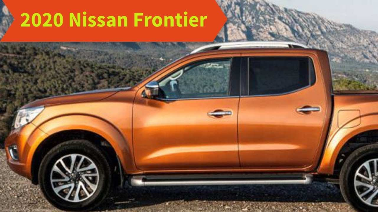 74 New 2020 Nissan Frontier Release Date New Review