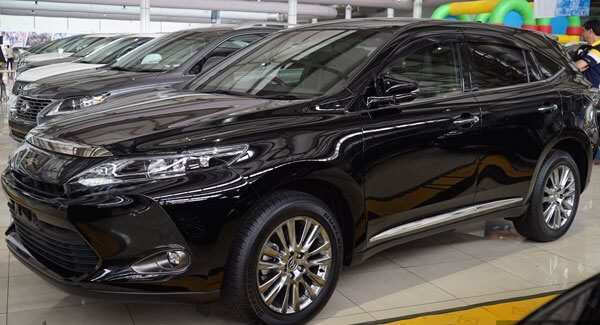 74 The Toyota Harrier 2020 Prices
