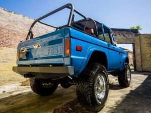 75 A 2019 Ford Bronco Convertible Spesification