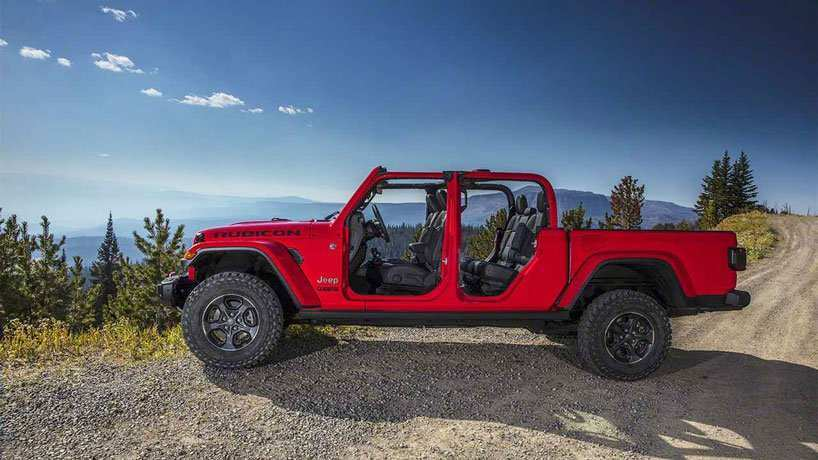 75 A Jeep Rubicon Truck 2020 Pictures
