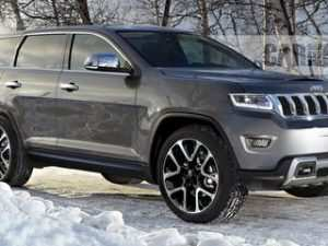 75 A Jeep Wagoneer 2020 Concept