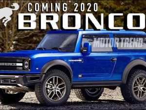 75 The Best 2020 Ford Bronco Price Design and Review