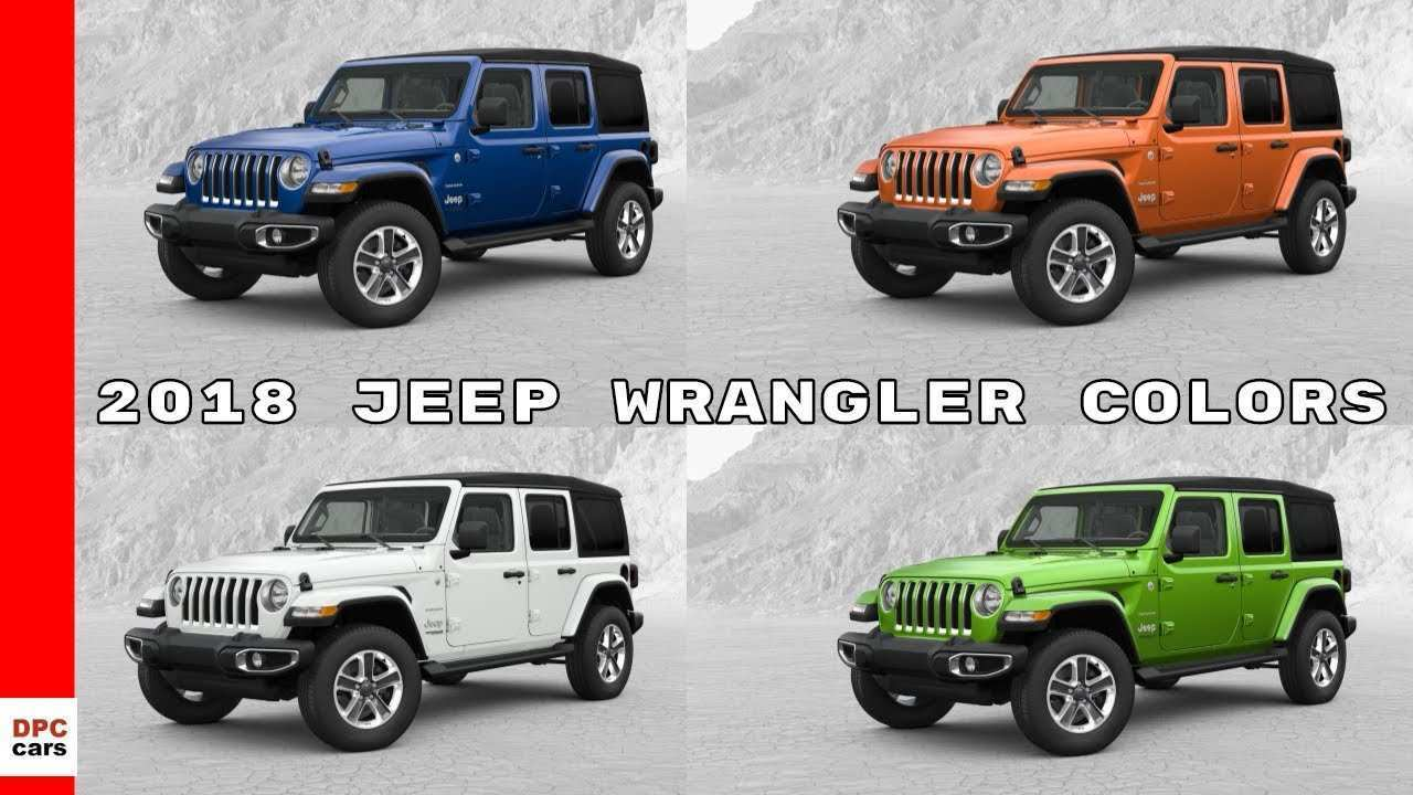 75 The Best 2020 Jeep Wrangler Exterior Colors Pricing