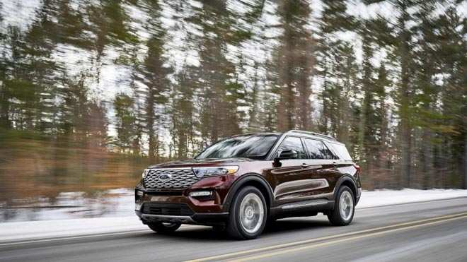 75 The Best Xe Ford Explorer 2020 Redesign And Review